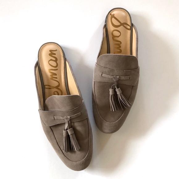 047abb294 Sam Edelman suede Paris slip on mule loafers. M 5a6fb425f9e50166c8bf13d2